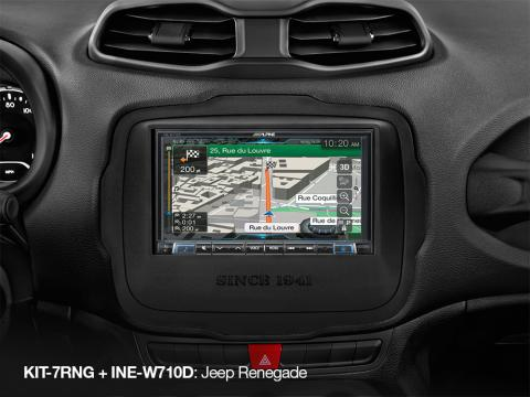 Navi-INE-W710D-in-Jeep-Renegade-with-KIT-7RNG