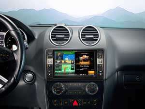 Alpine Style | Sistema Audio Video Navi per Mercedes ML (W164) e GL (X164) - X800D-ML