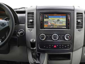 Alpine Style | Sistema Audio Video Navi per Mercedes Sprinter 906 - X800D-S906