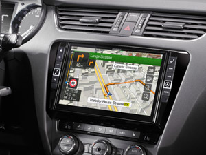 Alpine Style | Sistema Audio Video Navi per Skoda Octavia 3