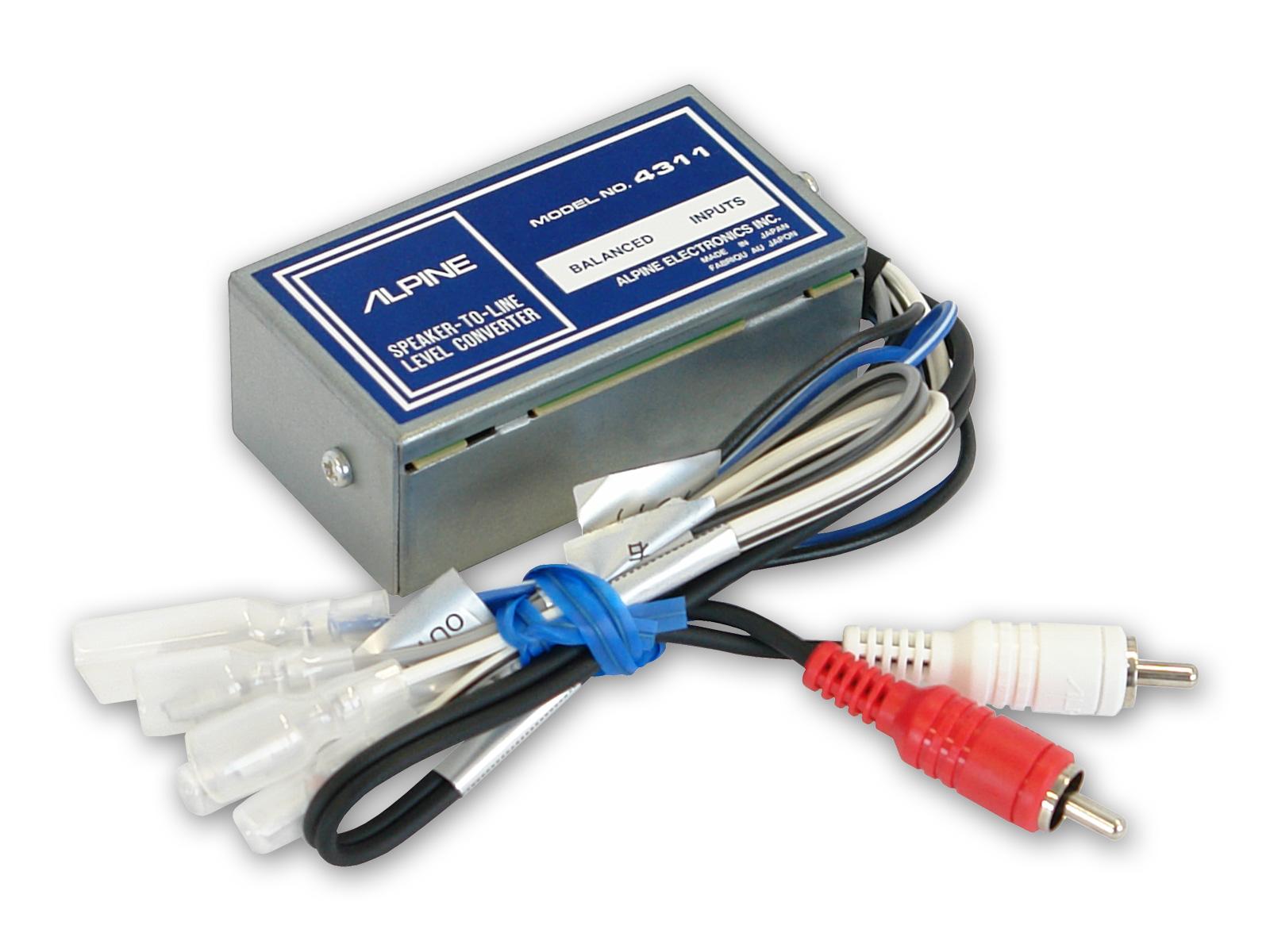 Lautsprecher-Ausgang an RCA (Hochleistung) - Alpine - 4311