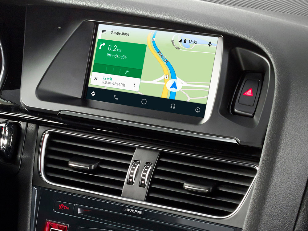 Inch Touch Screen Navigation For Audi A With TomTom Maps - Google audi car