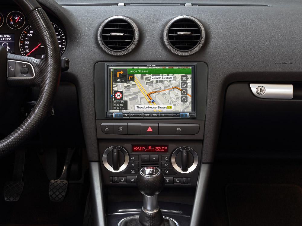 AIV Phantom antenas Adaptador Conector DIN 50 Ohm Audi//Seat//Skoda//VW car-HiFi KFZ