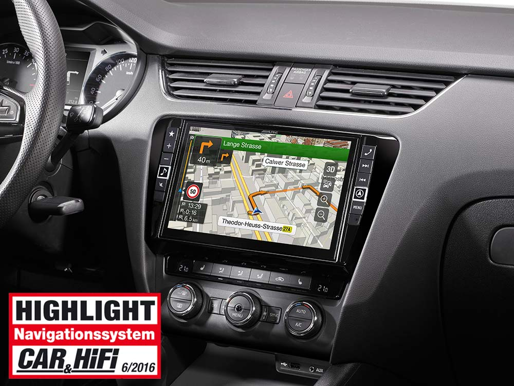 navigation system for skoda octavia 3 alpine x901d oc3. Black Bedroom Furniture Sets. Home Design Ideas
