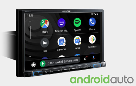 Works with Android Auto - X803DC-U
