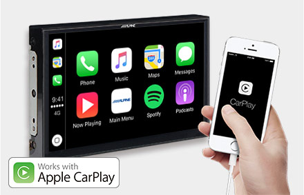 Works with Apple CarPlay - X902D-EX