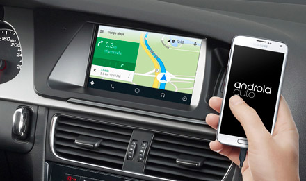 Online Navigation with Android Auto - X702D-A5