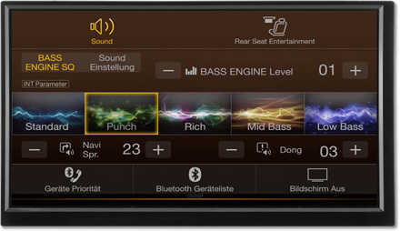 Bass Engine SQ Sound tuning - Navigation System X701D-F