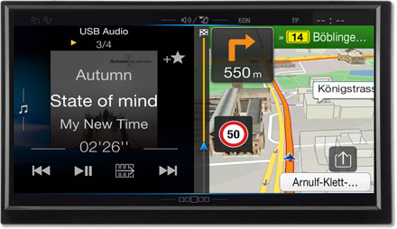 One Look Display - Freestyle Navigation System X701D-F