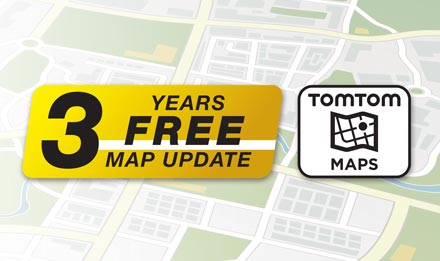 TomTom Maps with 3 Years Free-of-charge updates - X903D-S906