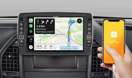 Online Navigation with Apple CarPlay - X903D-V447