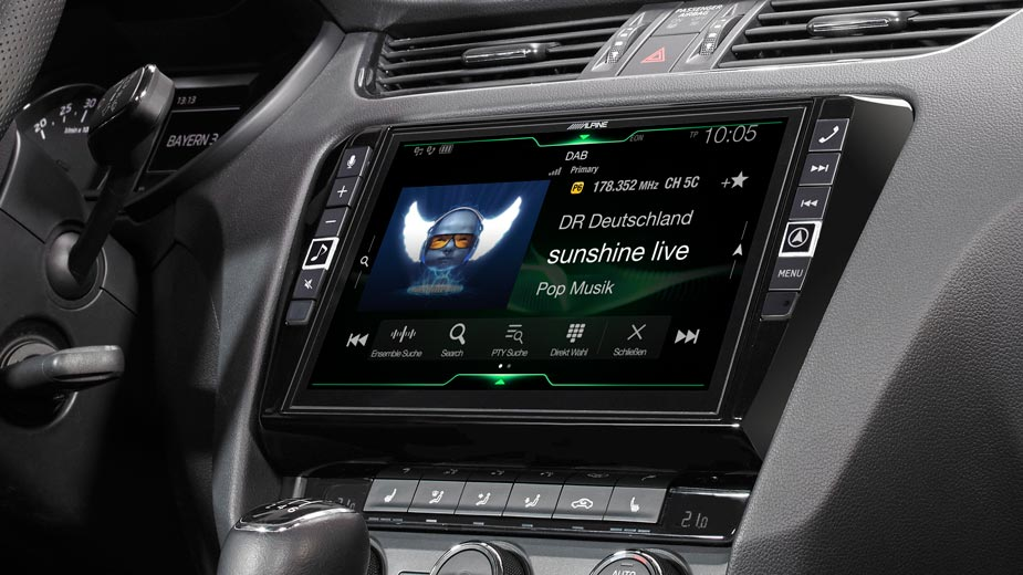Alpine Style Navigation Designed for Skoda Octavia 3 - X903D-OC3
