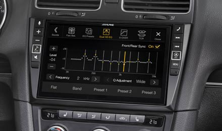 VW Golf 6 - Equalizer - X902D-G6