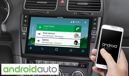 VW Golf 6 - Works with Android Auto - X902D-G6