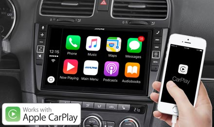 VW Golf 6 - Works with Apple CarPlay - X902D-G6