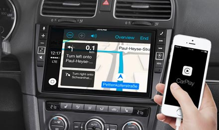Online Navigation mit Apple CarPlay - X902D-G6