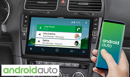 VW Golf 6 - Works with Android Auto - X903D-G6