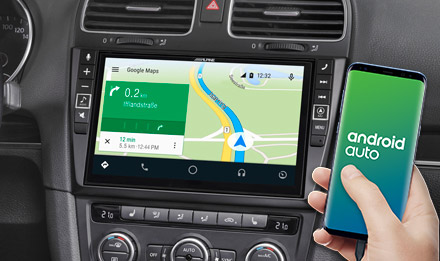 Online Navigation mit Android Auto - X903D-G6