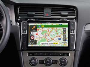 Alpine Style | Sistema Audio Video Navi per Volkswagen ( VW Golf 7 ) - X901D-G7