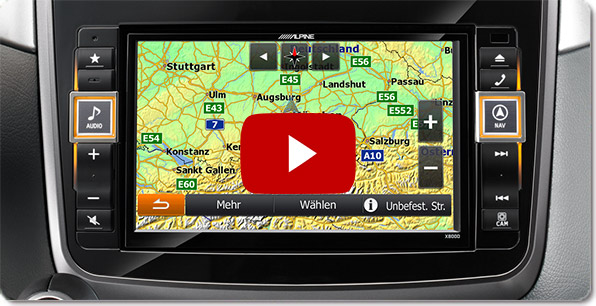 """Alpine Style Navigation for Mercedes 